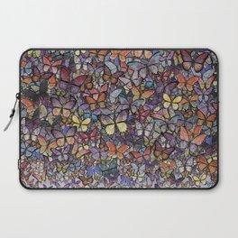 butterfly cascade Laptop Sleeve