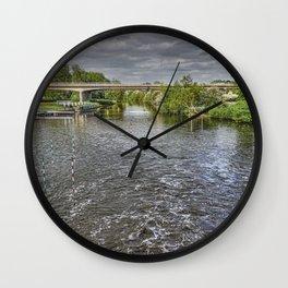 River Nene Orton Mere Wall Clock