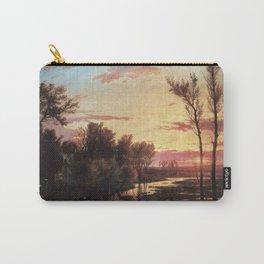 Un tramonto dopo la pioggia: A sunset after rain 1864 Carry-All Pouch