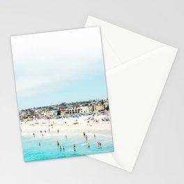 Travel Photography Love The Aqua Ocean Beach Stationery Cards