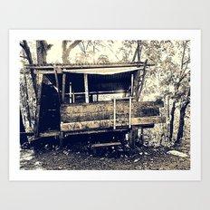 Love shack Art Print