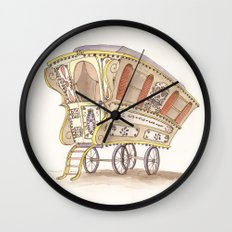 Caravans Wall Clock