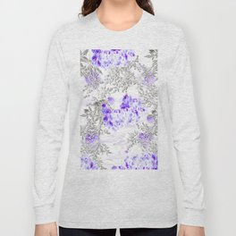 ORCHIDS PURPLE VINES AND CHERRY BLOSSOMS Long Sleeve T-shirt