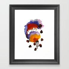 Beetle Juice Framed Art Print