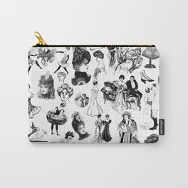 Good Girl Bad Girl Carry-All Pouch