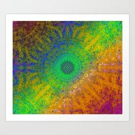 Zen RGB Alpha Art Print