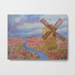Dreamy tulips Metal Print