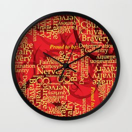 "Proud to be ""G"" Wall Clock"