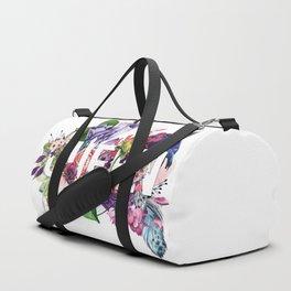 Queen Floral Duffle Bag