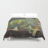 karma Duvet Covers featuring Karma Karma Karma by bphotography