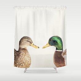 Two Ducks Shower Curtain