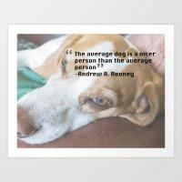 Quote 5 Art Print