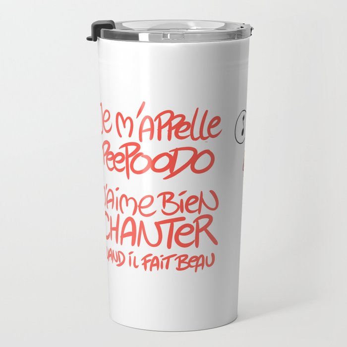 Peepoodo's song Travel Mug
