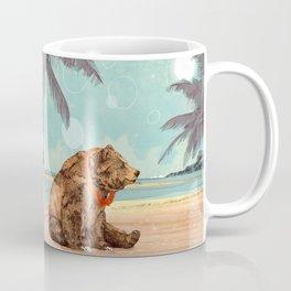 Beach Bear Coffee Mug