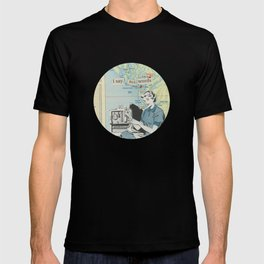 I Say Bad Words - Vintage Collage T-shirt