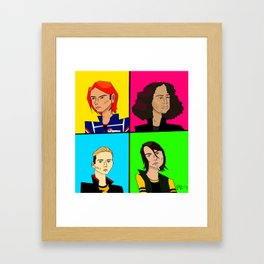KILLJOYS Framed Art Print