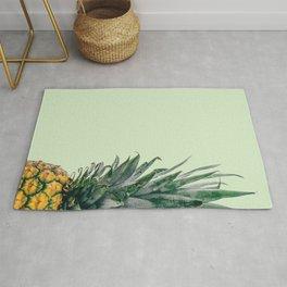 Pineapple in Light Green Rug