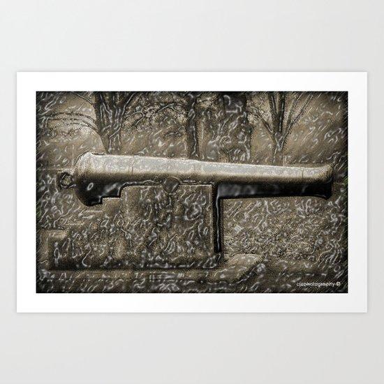 Loose Cannon Art Print