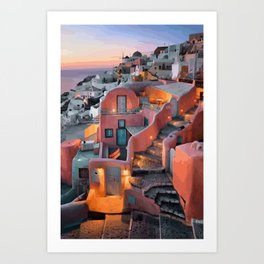 Greek Islands Art Print