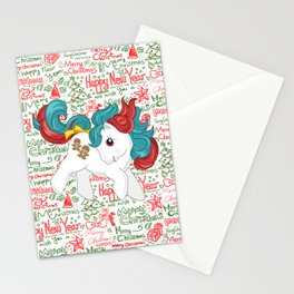 my little pony christmas baby Stationery Cards