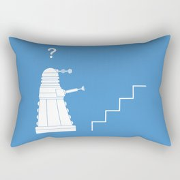 The problem with Daleks. Rectangular Pillow