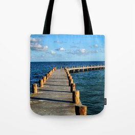 Docking In (Mexico) Tote Bag