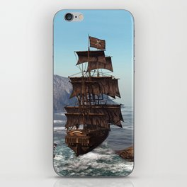 Pirate Ship iPhone Skin