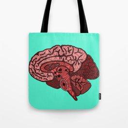 Brain Map Tote Bag