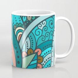 Hamsa Hand of Fatima, good luck charm, protection symbol anti evil eye Coffee Mug