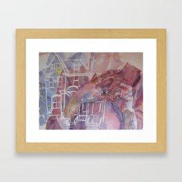 Where the Good Goes Framed Art Print
