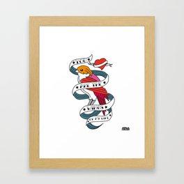 05 - TATTOO WINGS Framed Art Print