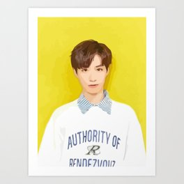 ONEUS Xion Art Print