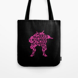 Dva I am number One Tote Bag
