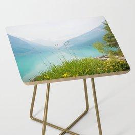 Beauty of Lake Louise Side Table
