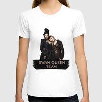 swan queen T-shirts featuring Swan Queen Team by Geek World