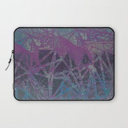 blue stone space geometry Laptop Sleeve