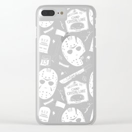 Welcome to Camp Crystal Lake! Clear iPhone Case