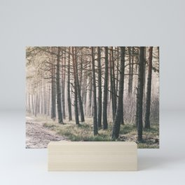 Woods in Ziepniekkalns Mini Art Print