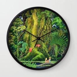 Mana Sanctuary Wall Clock