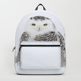 White on white Backpack