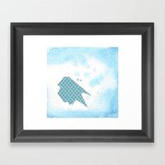 Origami Bird 4 Framed Art Print