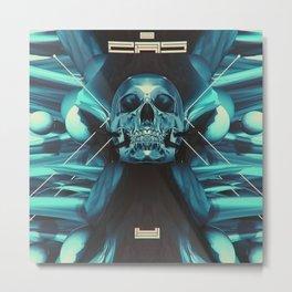 SKULL DX Metal Print