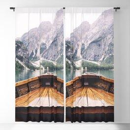 Mountain Lake Blackout Curtain