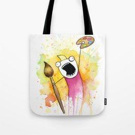 Meme Painting Tote Bag