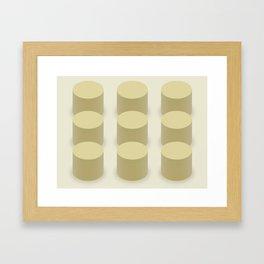 Deforestation Framed Art Print