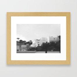 Capri I Framed Art Print