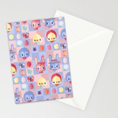Happy Easter! Pattern Stationery Cards
