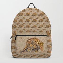 Swirly Leopard Backpack