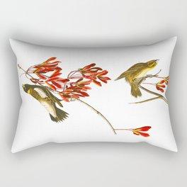 Rice Bird Rectangular Pillow