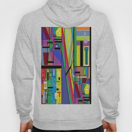 Geometry Abstract Hoody